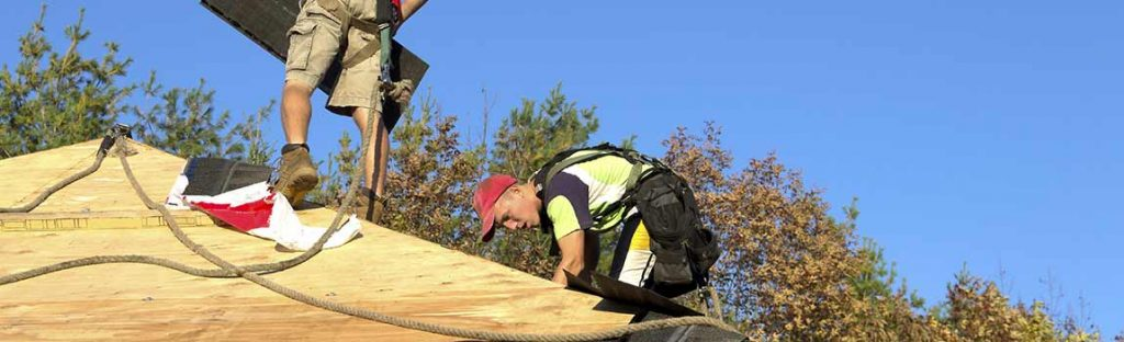 Re-Roofing Services by Surlang Roofing