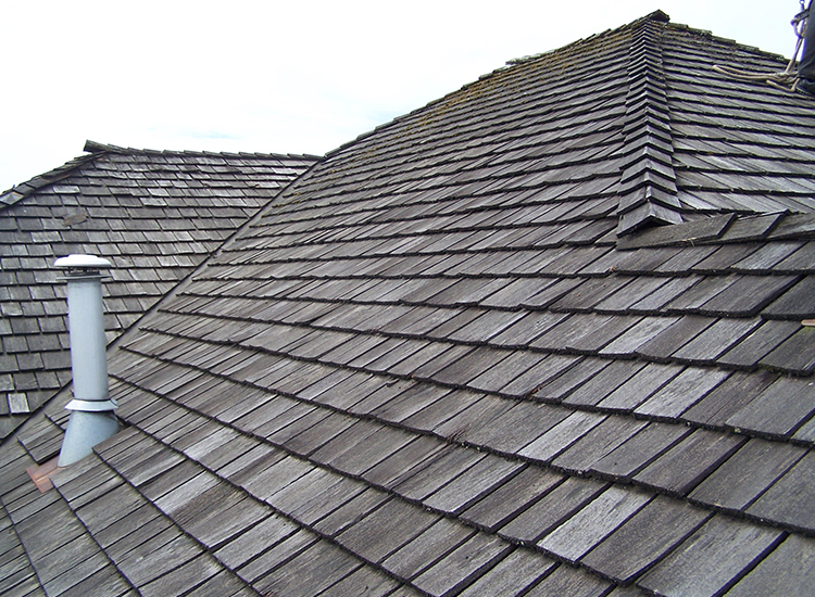 Re-Roofing Single Family Home in Surrey, BC: Before Cedar Conversion