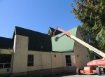 Surlang Roofing Maintenance on St. Mark's Anglican Church in South Surrey, BC