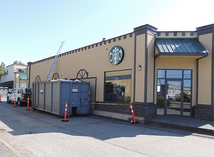 Starbucks Commercial Roof Installation