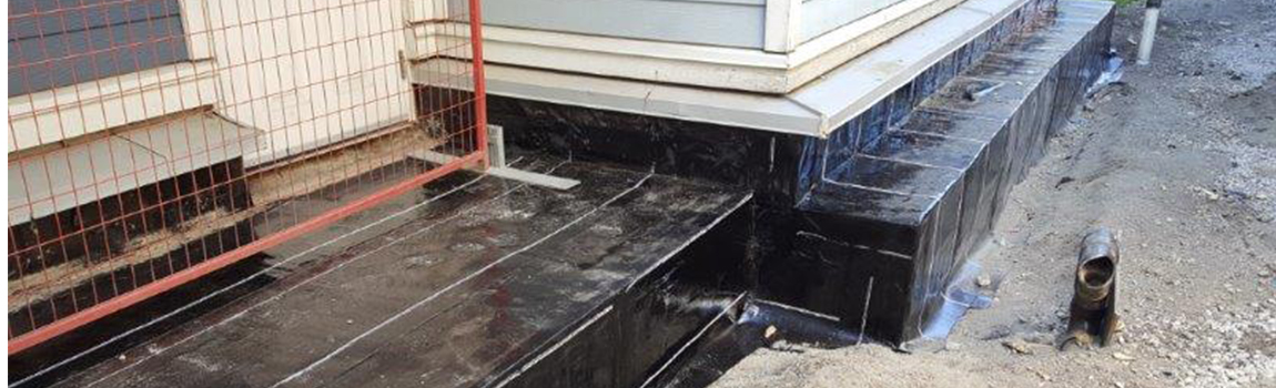 Waterproofing Co-op housing in Vancouver