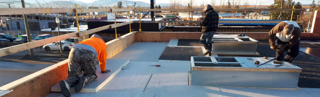 Surlang Roofing, Commercial Roof Installation