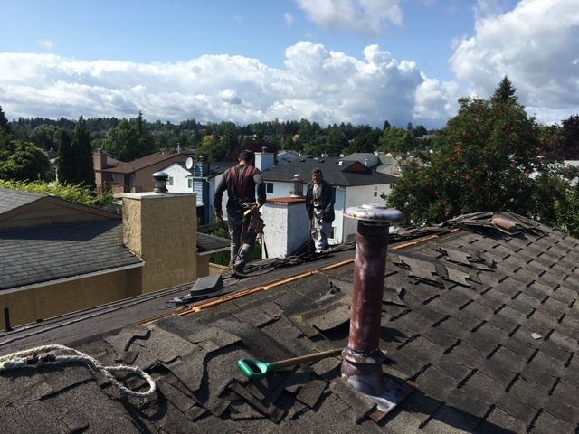 New roof installation In Langley