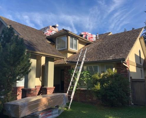 cedar roof replacement langley