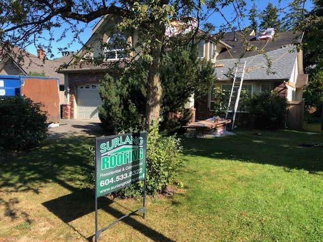 Cedar roof replacement Surrey