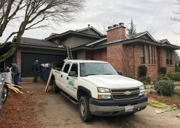 Residential Roof conversion Langley, BC.