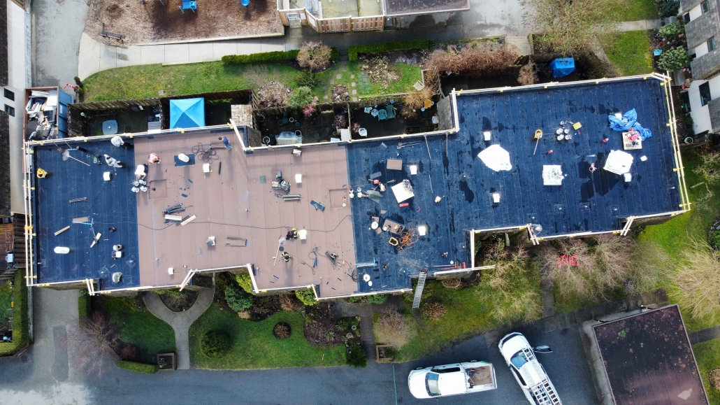 Commercial roof replacement North Vancouver portfolio