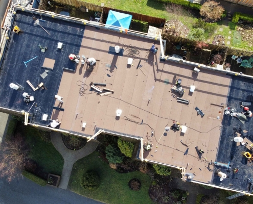 Commercial roofing company North Vancouver portfolio